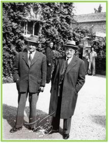 پروفسور پاستوروالری رادو و دکتر جرج بلانک