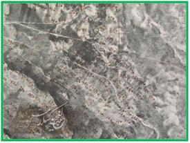 نقشه هوایی کانون طاعون خیز کردستان