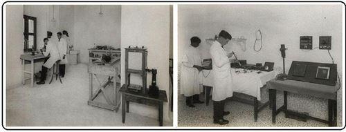 اتاق تشخيص و آزمايشگاه بيمارستان نفت مسجد سليمان