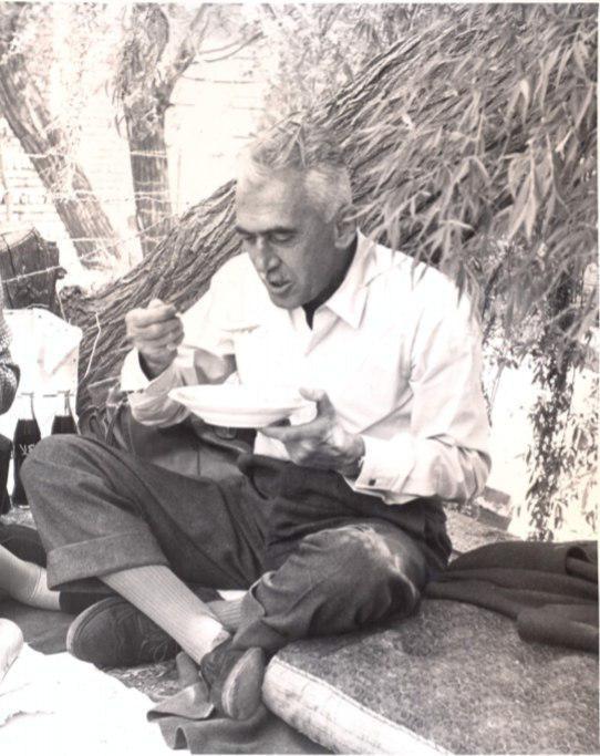 دکترمارسل بالتازار رئیس اسبق انستیتو پاستور ایران