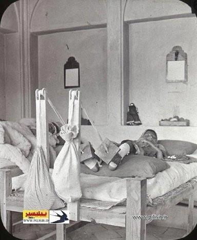 بیمارستان فوق پیشرفته در زمان قاجار